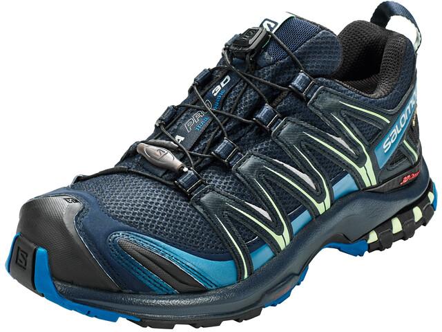 Salomon XA Pro 3D GTX Zapatillas Mujer, navy blazer/lyons blue/spruce stone